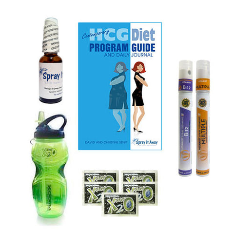 Spray It Away Sample Pak #1