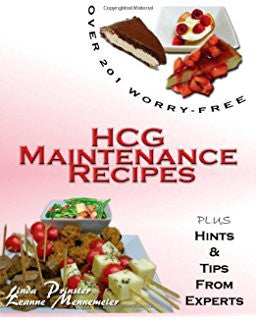 HCG Maintenance Recipes Book