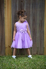 Lavender Bow Dress