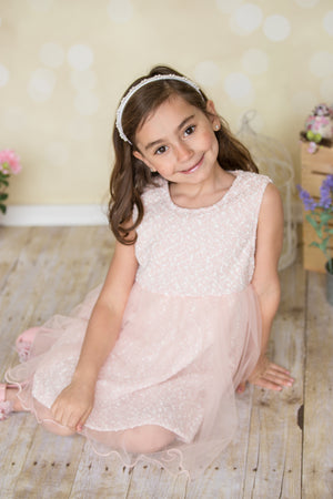 Peach Easter Dress