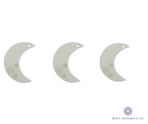 Crescent Moons (engraved)