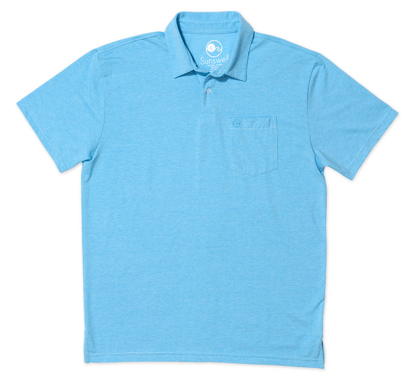 Poly Pima Polo - Bluefinn