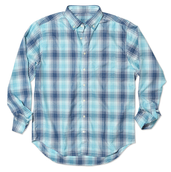 Hicks Island Plaid - Bluefinn