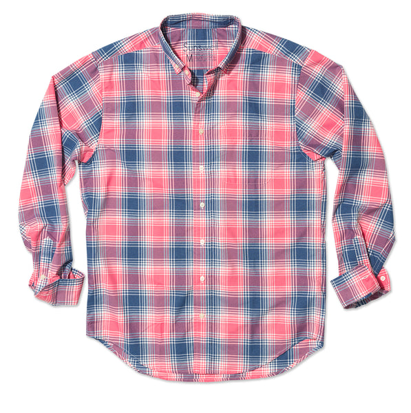 Hicks Island Plaid - MTK Red