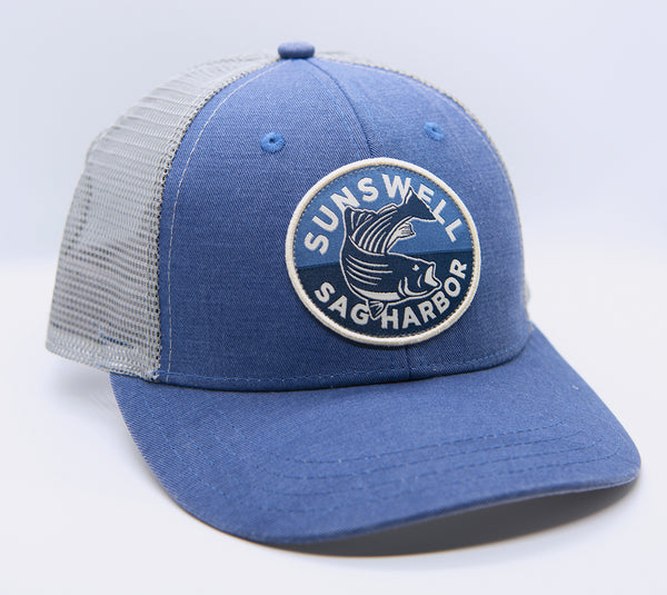 Striper Circle Patch Hat