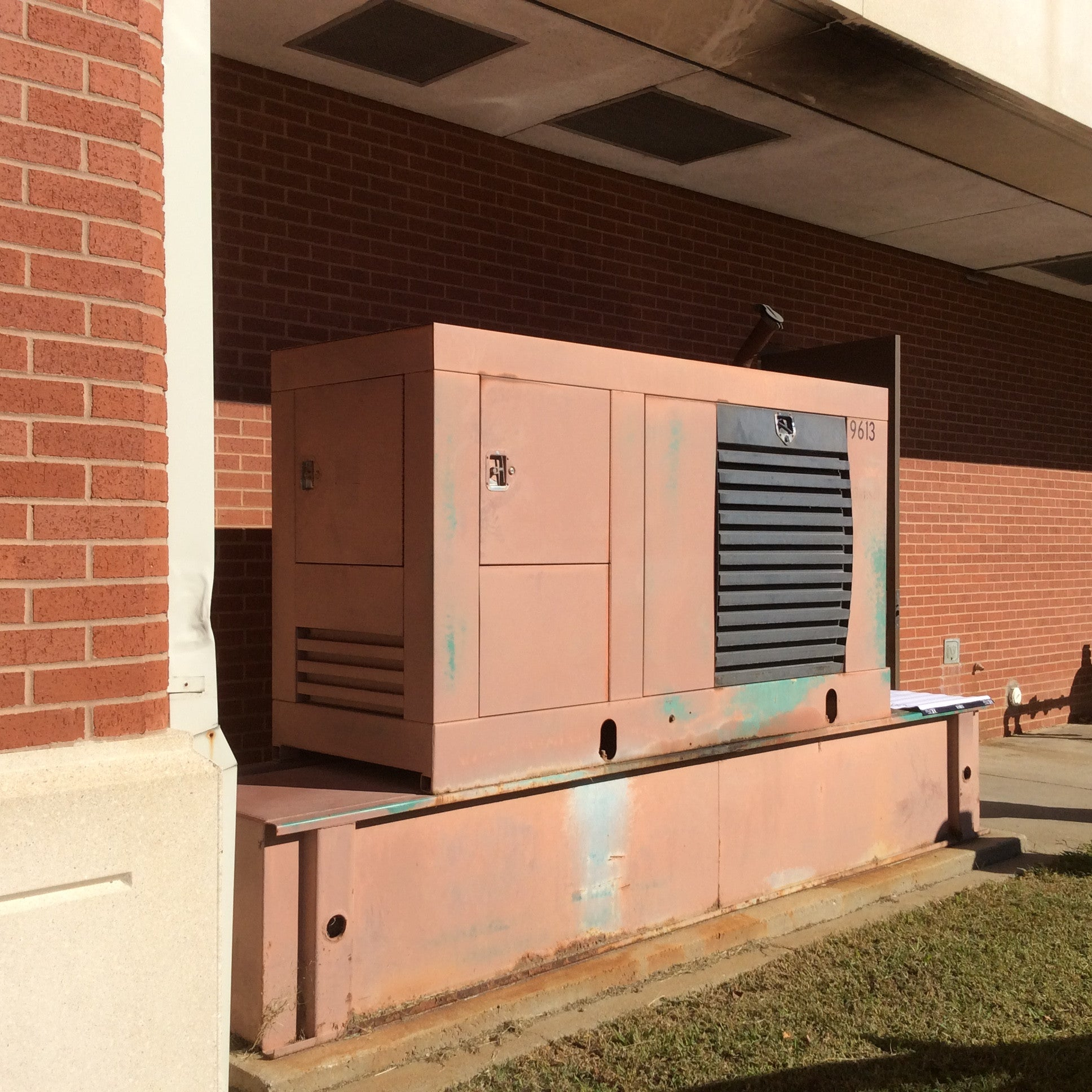 Used 80kw Diesel Standby Generator – Harris Power & Equipment