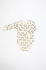 Full Sleeve Bodysuit - Elephant Print