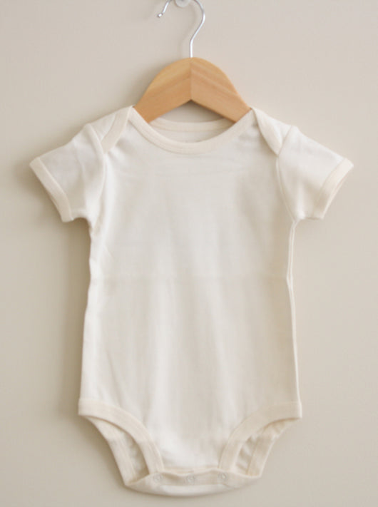 Short Sleeve Bodysuit - Plain