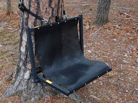 ground lounger demonstration on tree