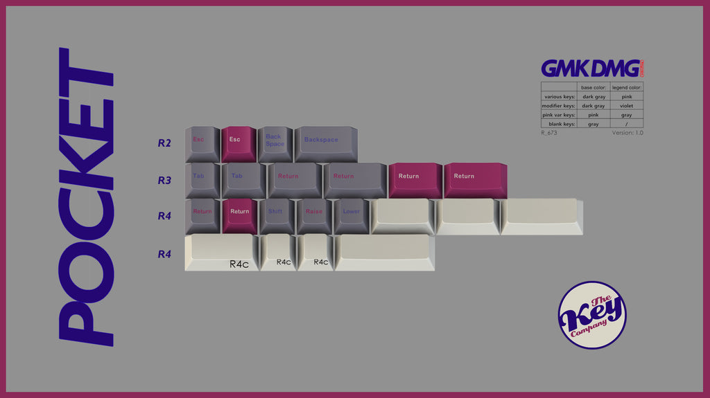GMK DMG Pocket 40 kit