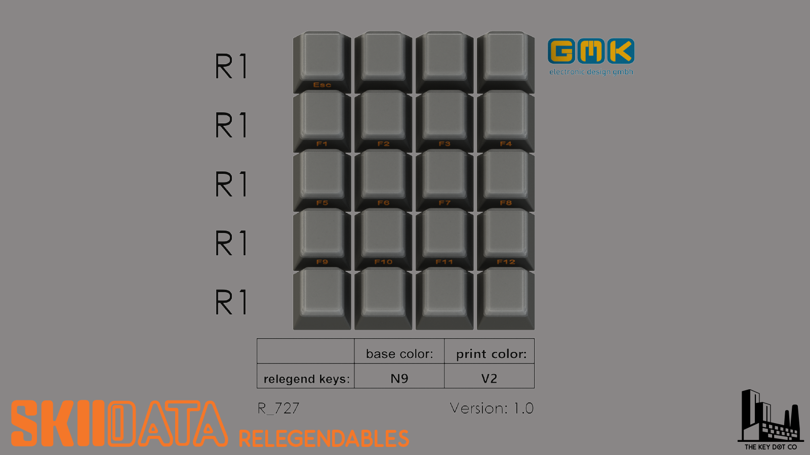 GMK SkIIdata Relegendables