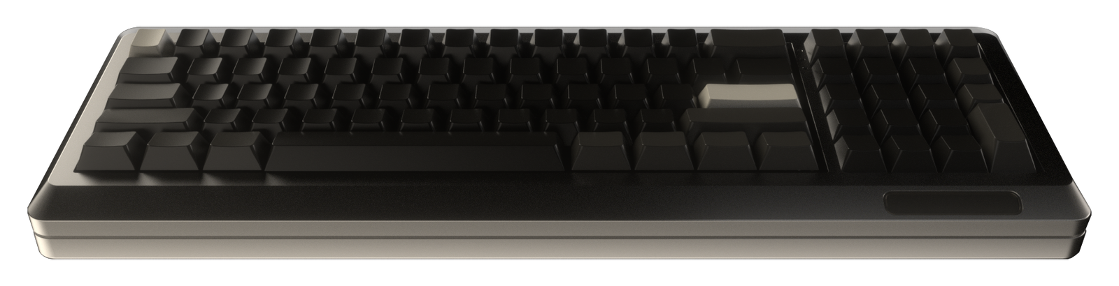 M0lly keyboard front view