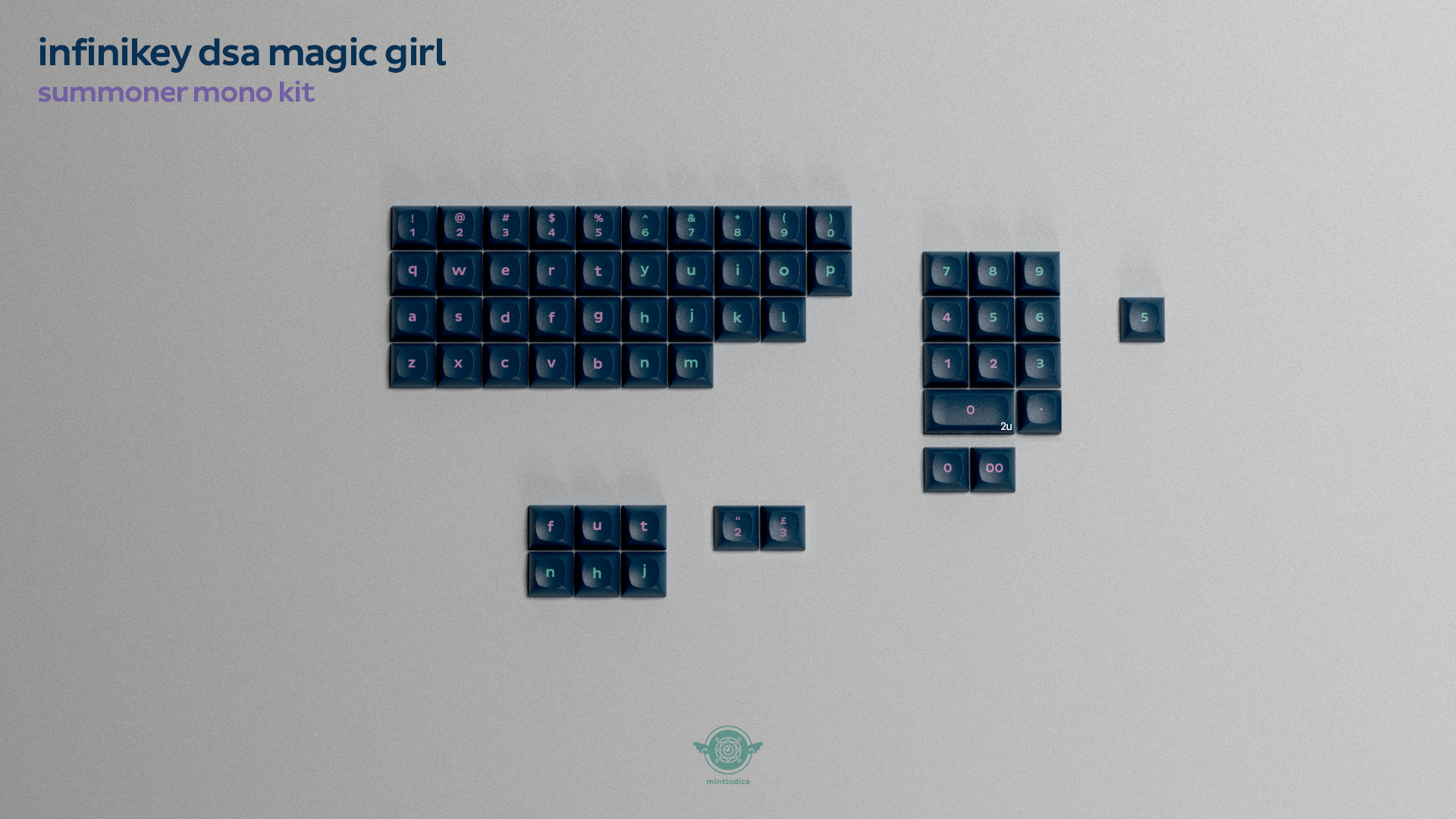 DSA Magic Girl Keycaps Round 2