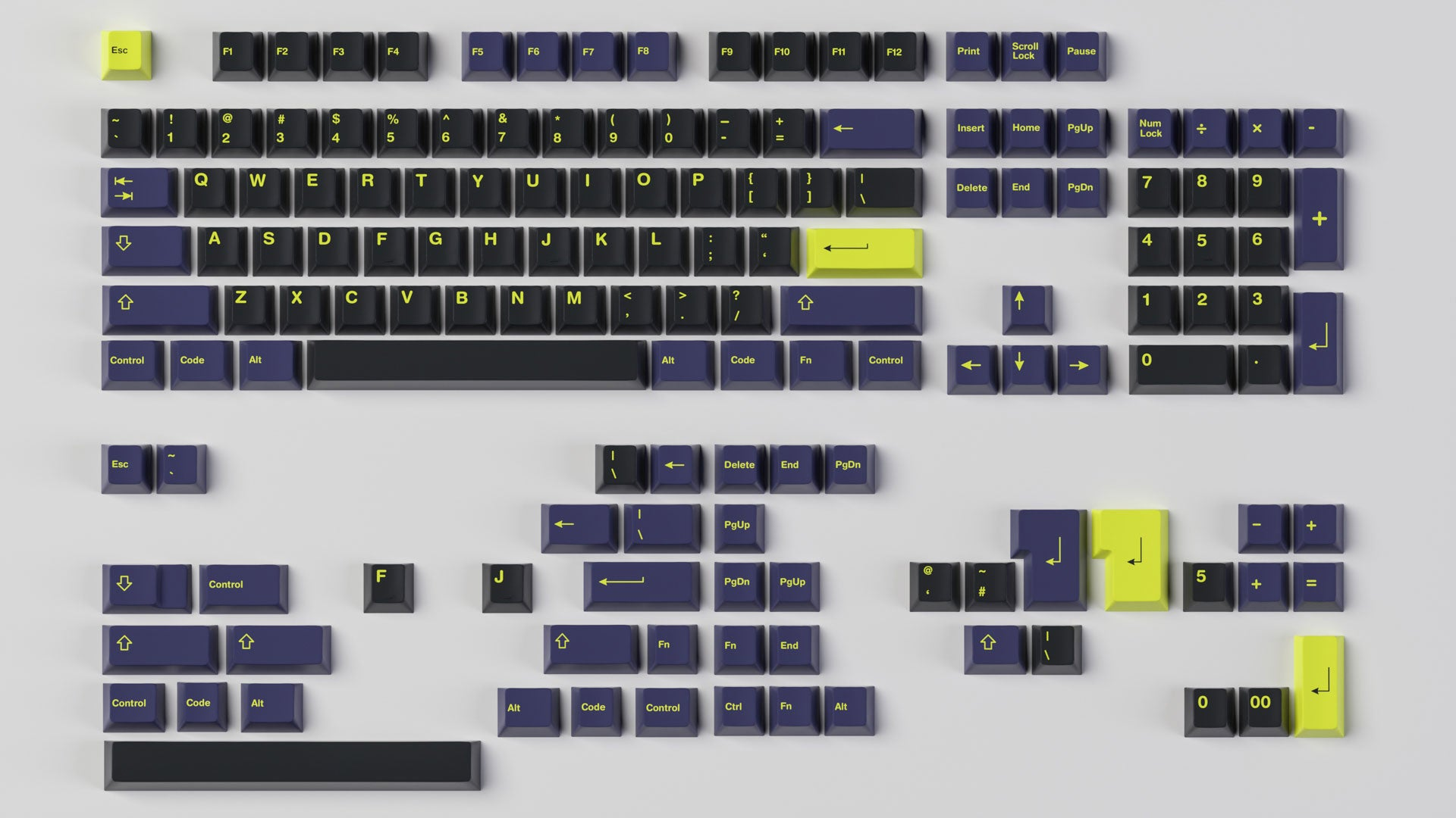 GMK Night Runner Base