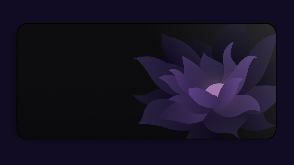 Black Lotus Deskmat