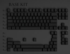 GMK Dark base kit