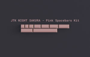 JTK Night Sakura Keycaps