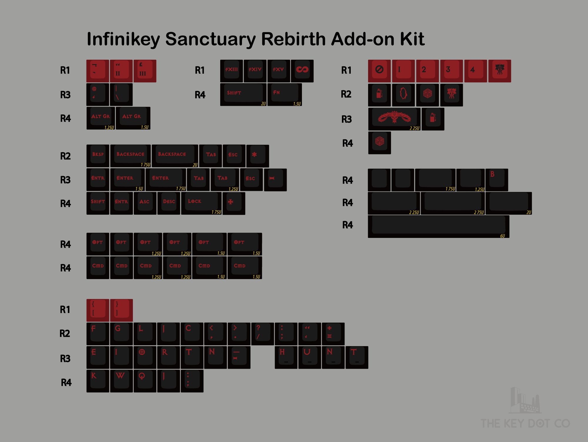 Sanctuary Rebirth PBT by Infinikey