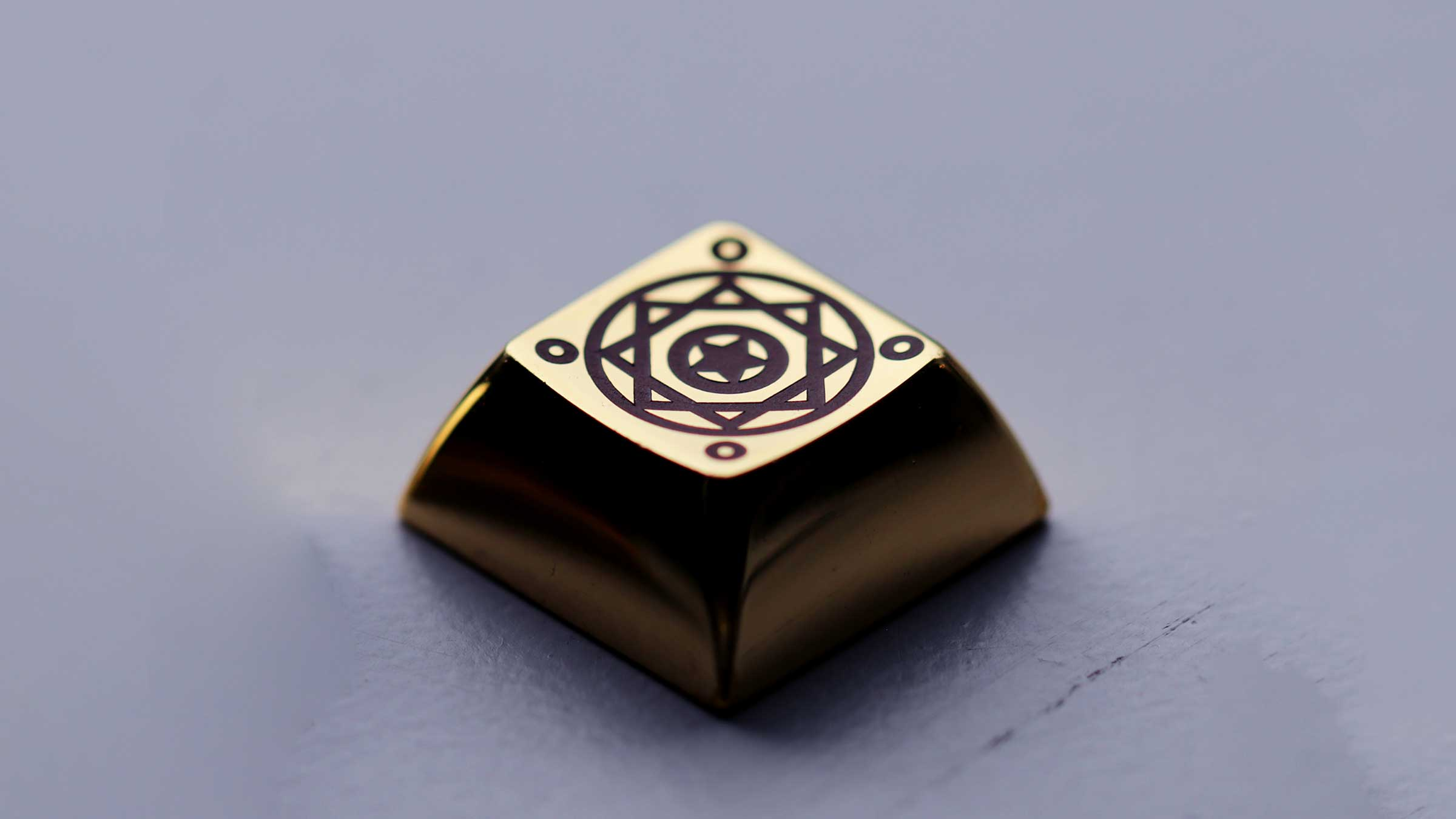 DSA Magic Girl Artisan Brass Keycap