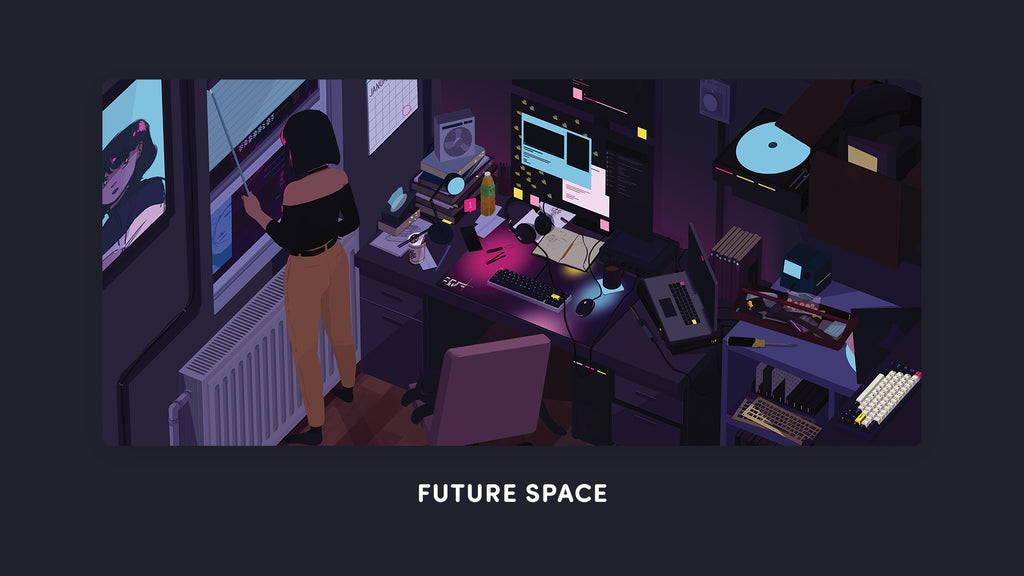 Future Space Deskmat