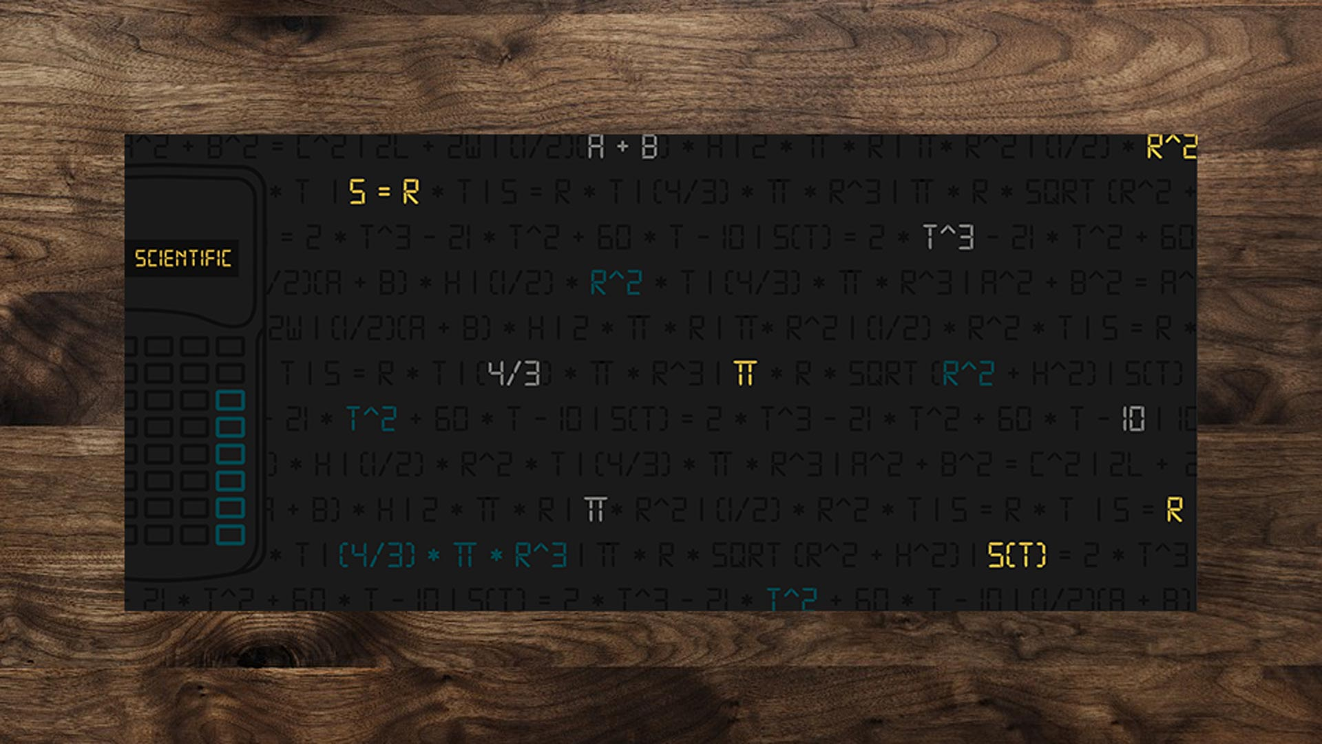 Scientific Deskmat