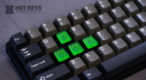 HotKeys Project Terminal Two Tone & Translucent Keys
