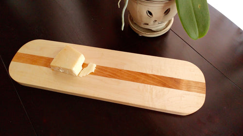 Maple and Cherry Serving Board
