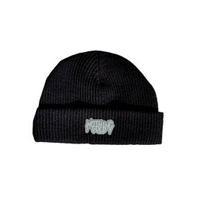 Glow-in-the-Dark Logo Beanies (Black)