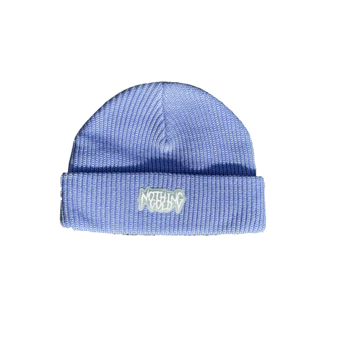 Glow-in-the-Dark Logo Beanie (Periwinkle)