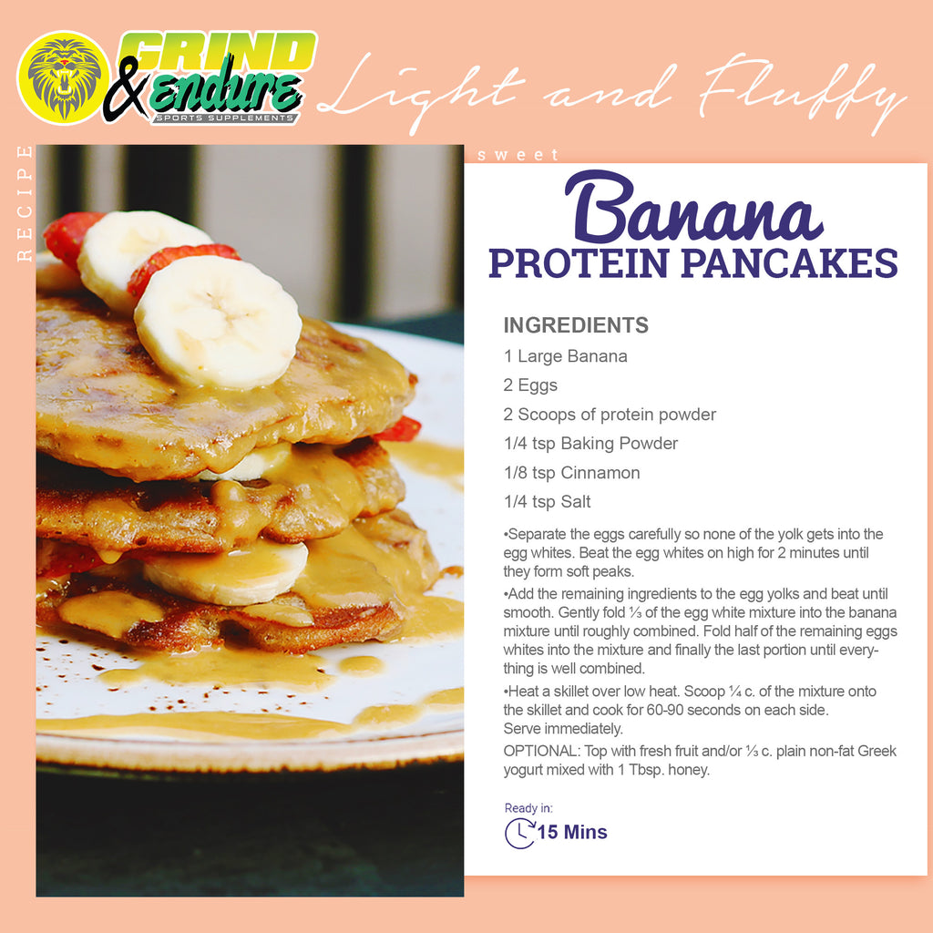 The Most Amazing Protein Pancake