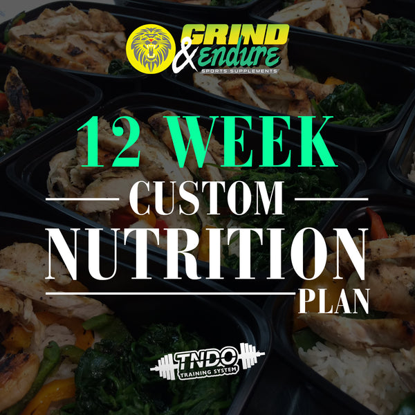 Custom Nutrition -12 week