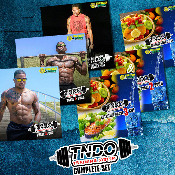 COMPLETE LEAN SERIES TNDO- TRAINING SYSTEM (Phase 1, 2 & 3)