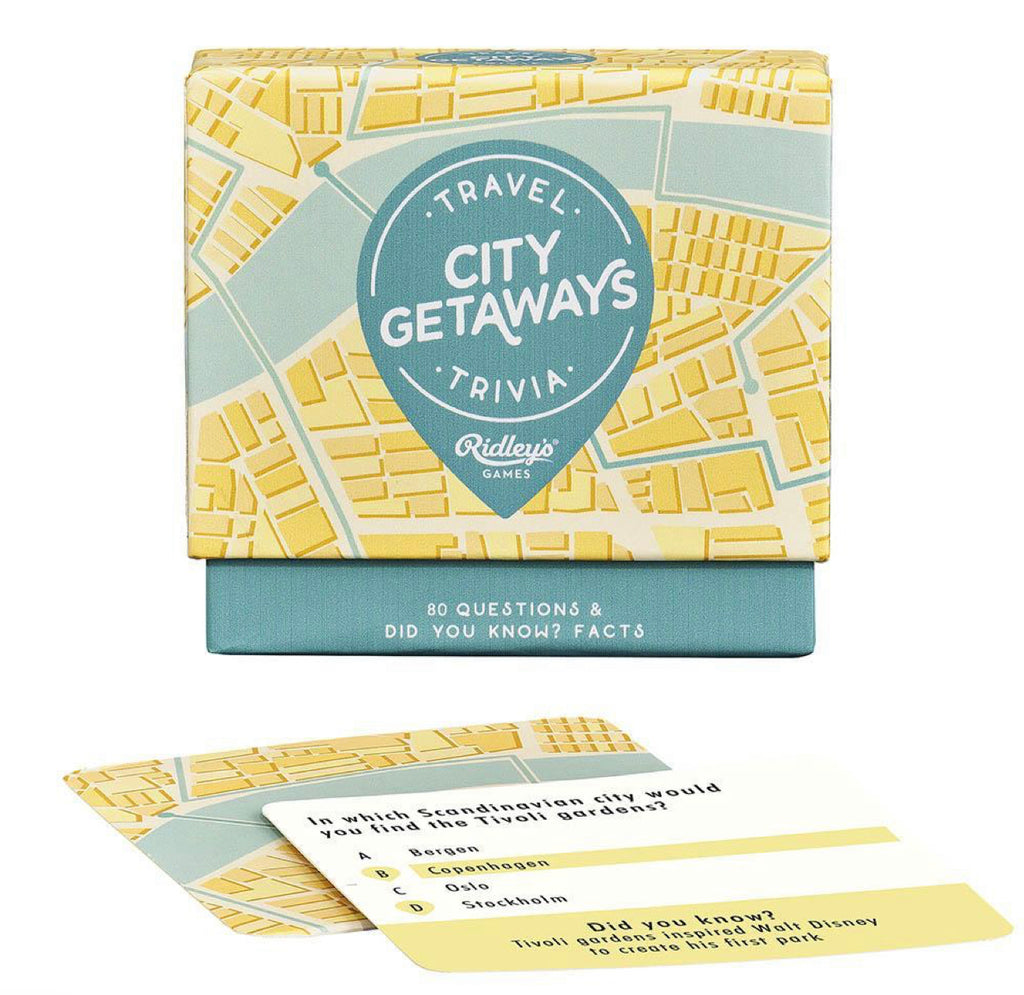 City Getaways Travel Quiz Games