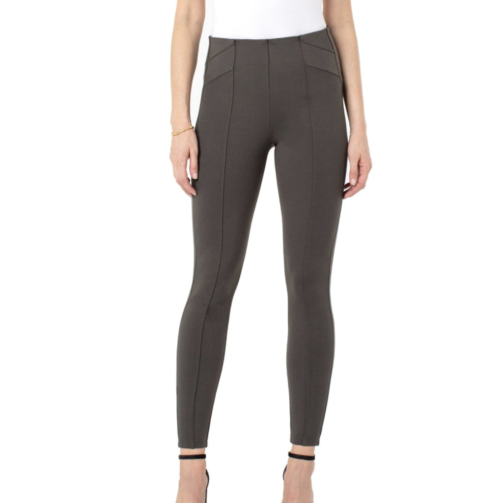 Liverpool Reese Ankle Leggings - Oakmoss