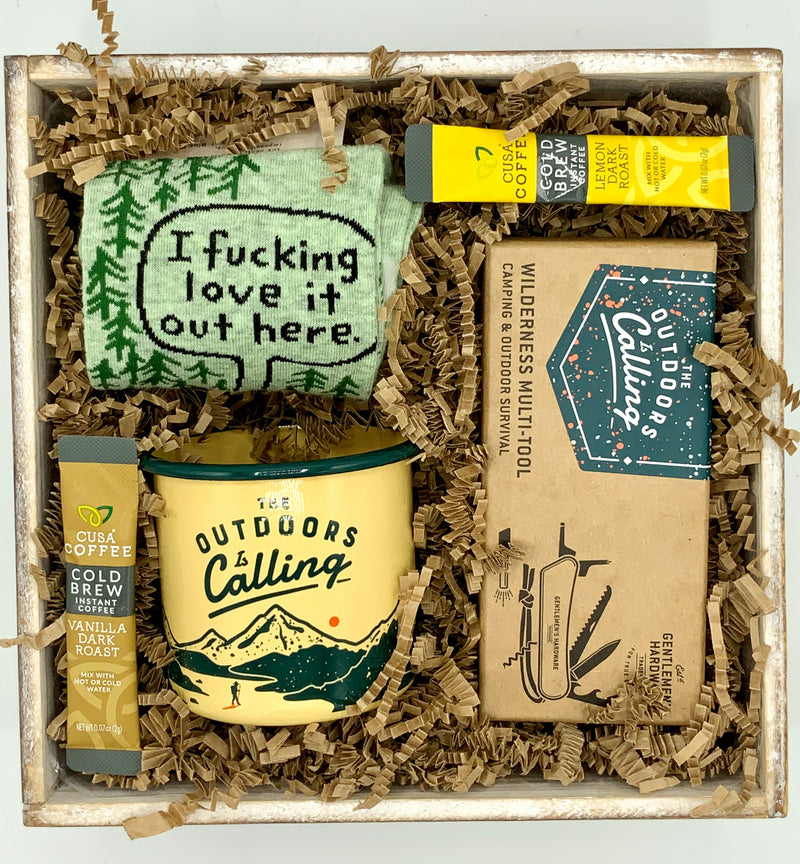 I F'n Love It Out Here Outdoors Gift Box