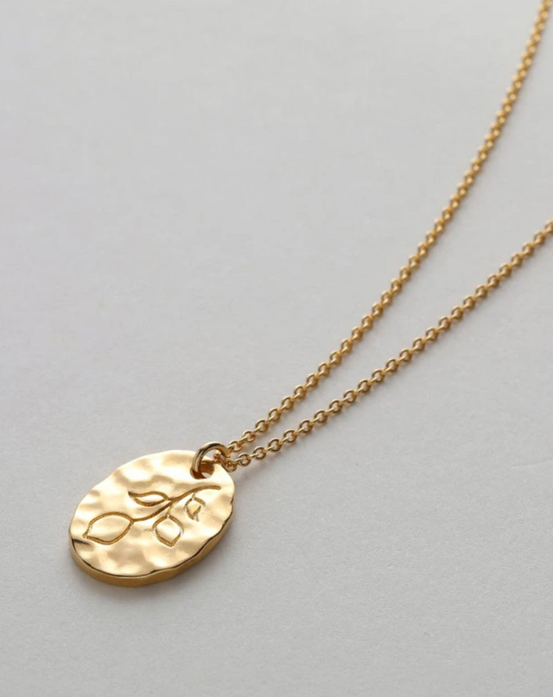 Bryan Anthonys When Life Gives You Lemons Gold Necklace