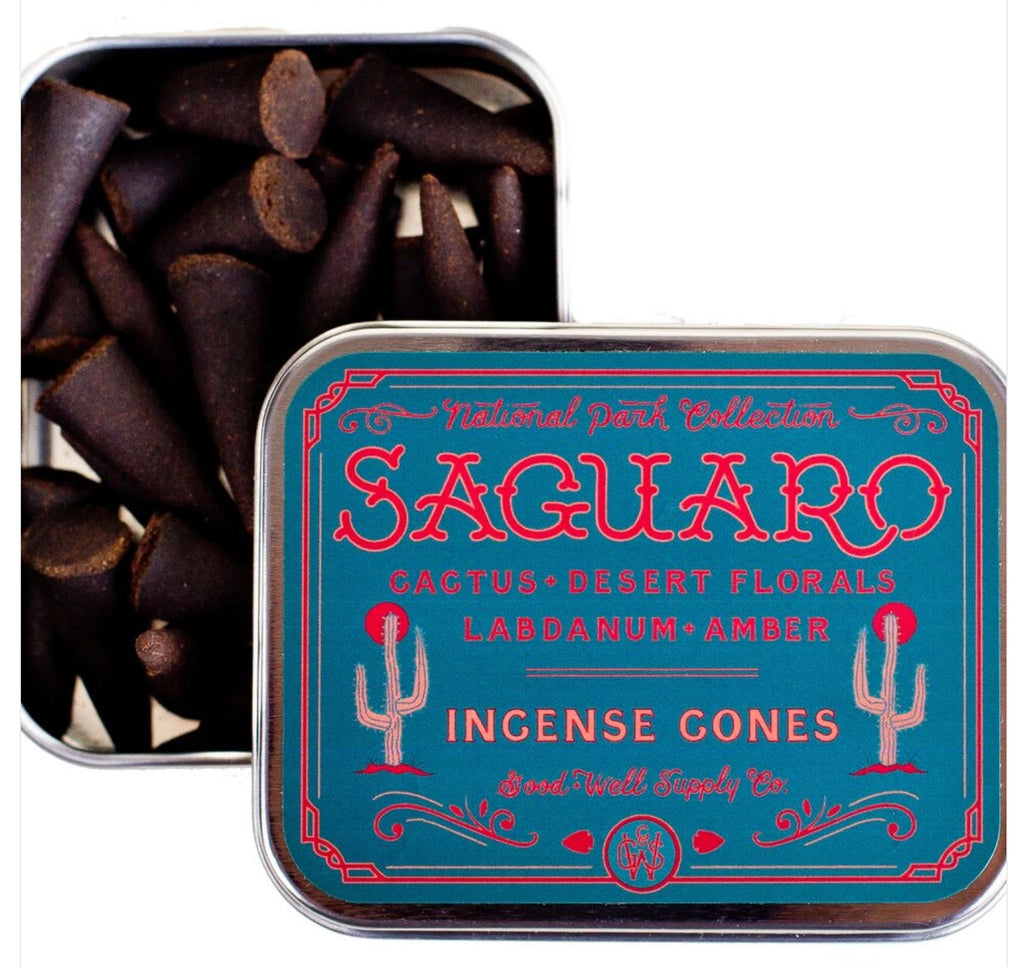 Good & Well Supply Co. Suguaro Incense Cones