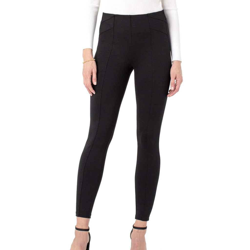 Liverpool Reese Ankle Leggings - Black