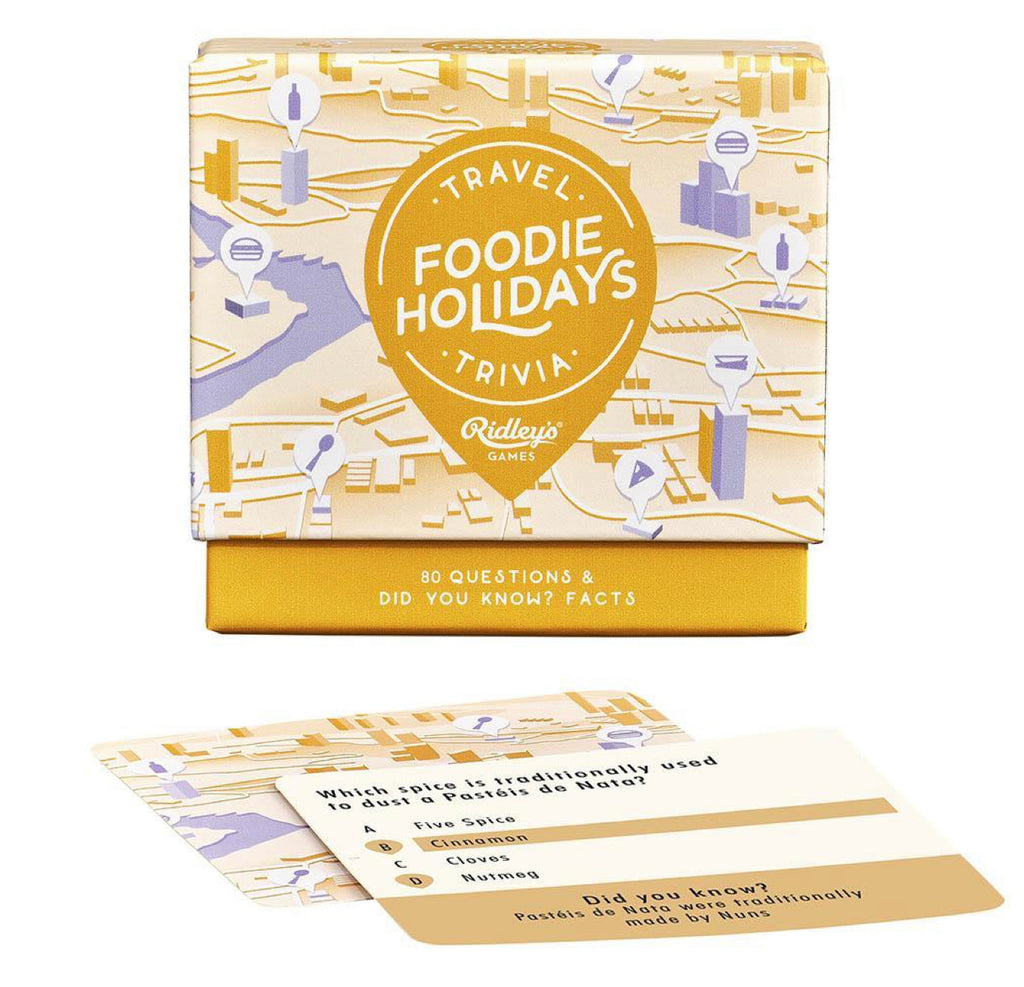 Foodies Holiday Trivia Quiz Games