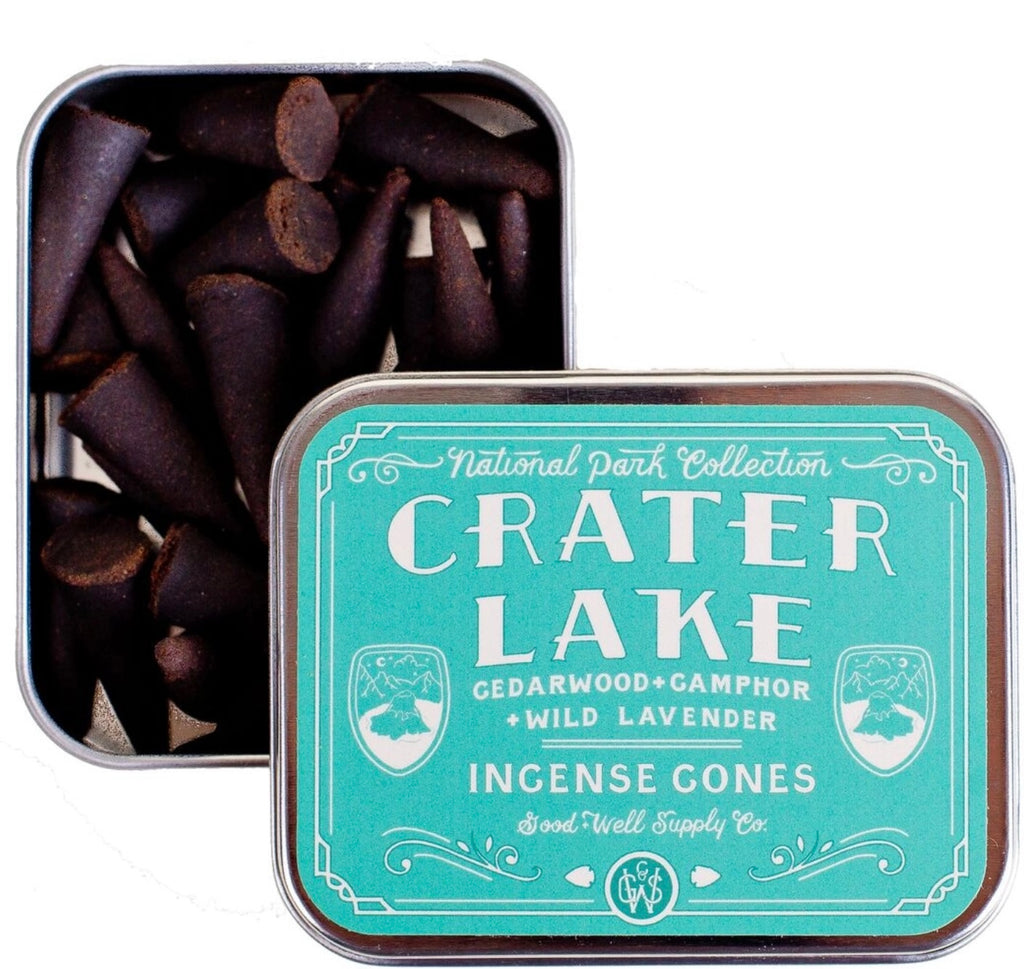 Good & Well Supply Co. Crater Lake Incense Cones