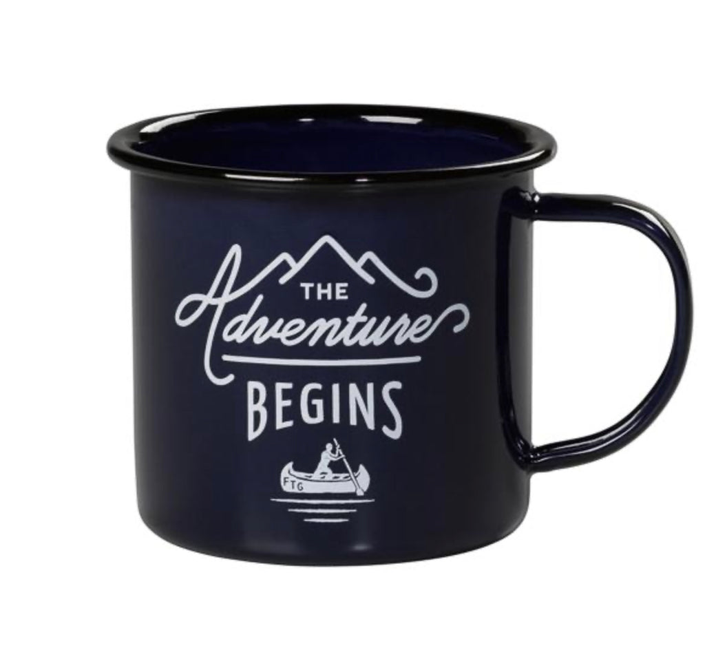 Adventure Begins Camp Mug