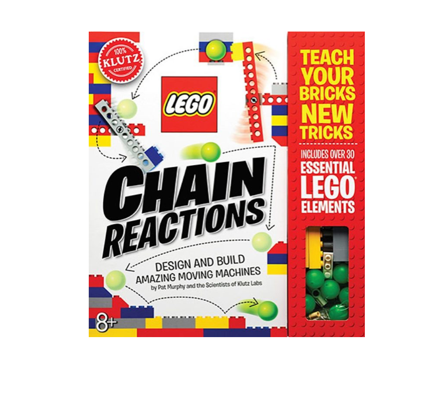 Klutz Lego Chain Reactions Design and Build Amazing Moving Machines Art & Craft Kit