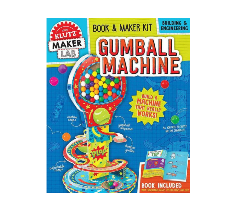 Klutz Build Your Own Gumball Machine Building and Engineering