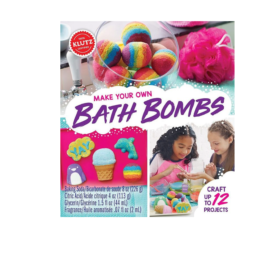 Klutz Make Your Own Bath Bombs Art And Craft Kit