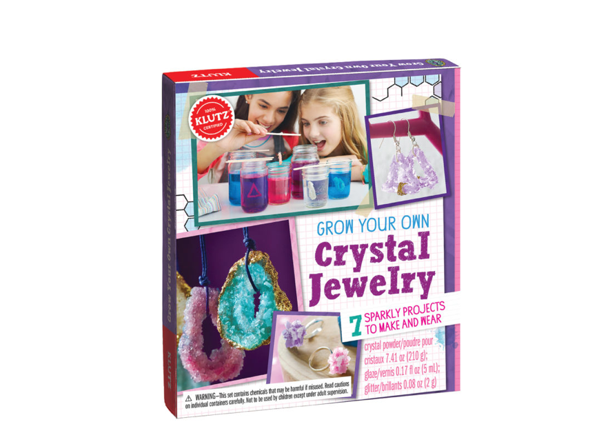 Klutz Grow Your Own Crystal Jewelry Art And Crafts Kit