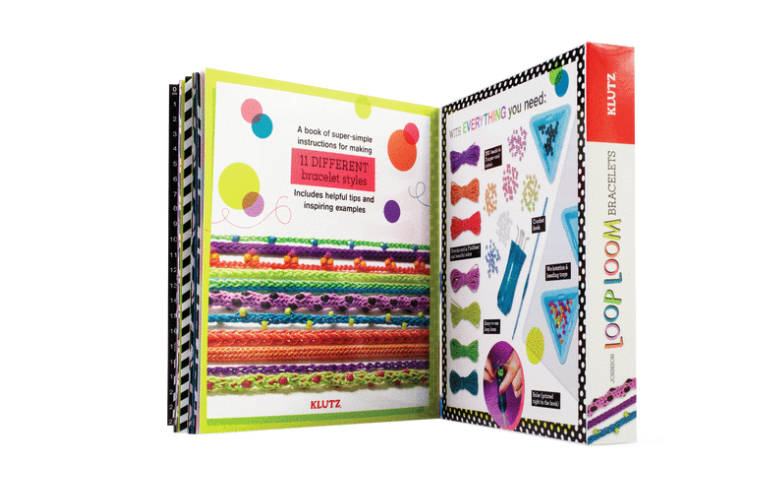 Klutz Make Your Own Loop & Loom Bracelets Art And Crafts Kit