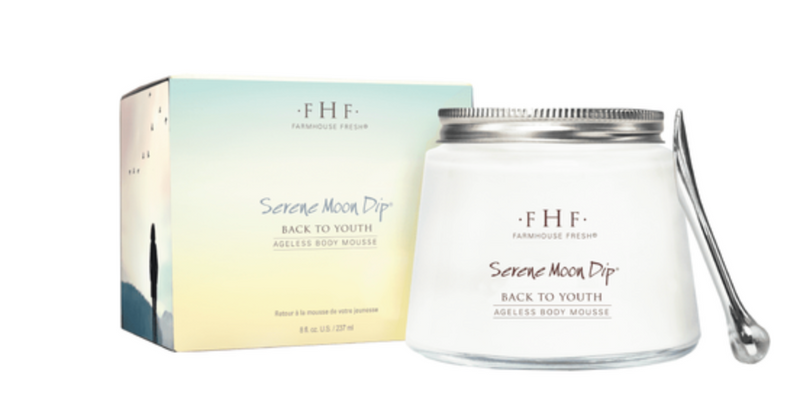 Farmhouse Fresh Serene Moon Dip Back To Youth Ageless Body Mousse