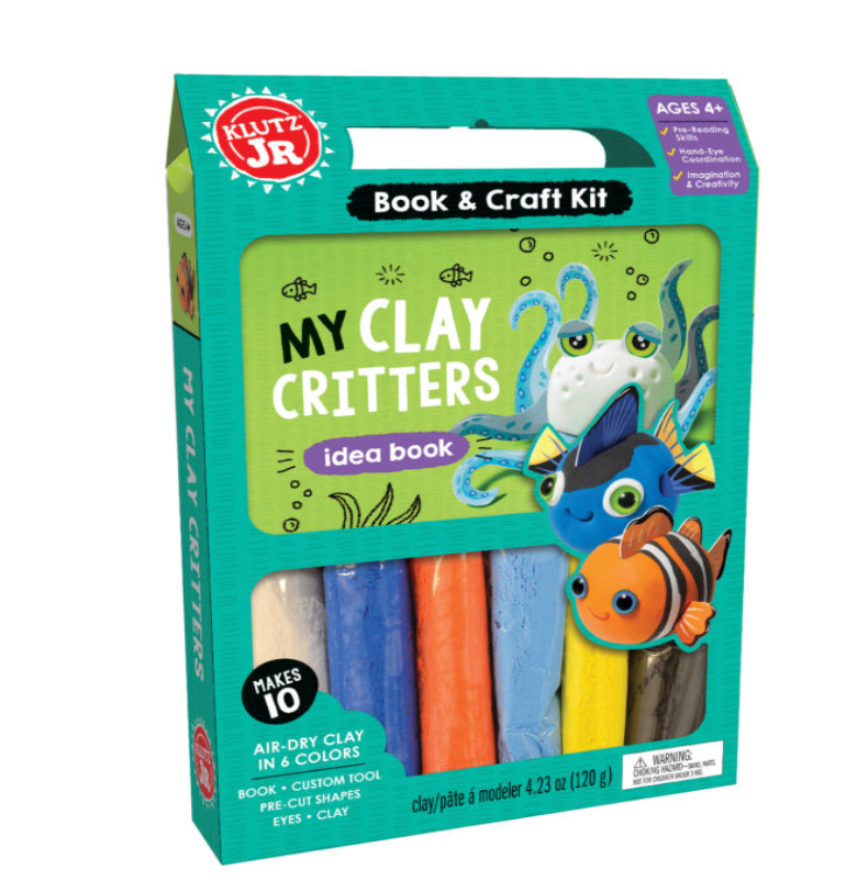 Klutz Jr. My Clay Critters Book & Craft Kit