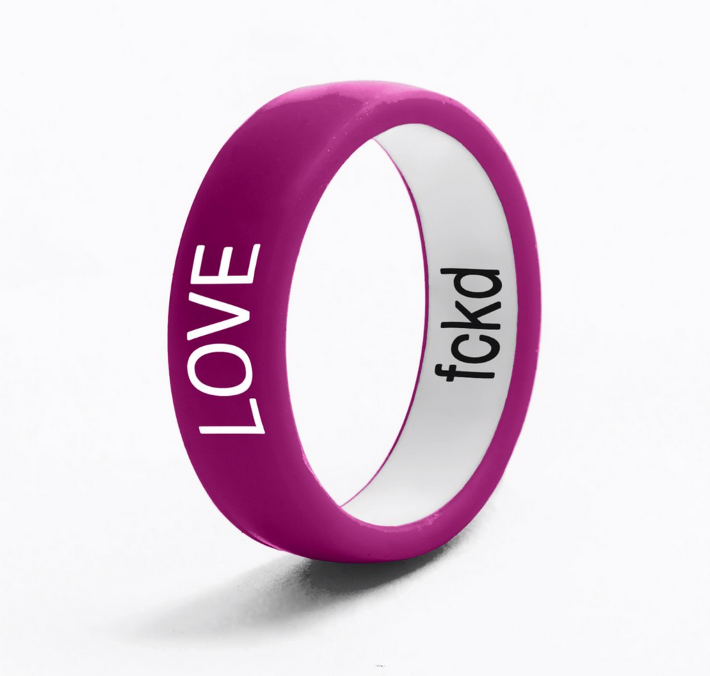 Flip Ring Reversible Love / Fckd