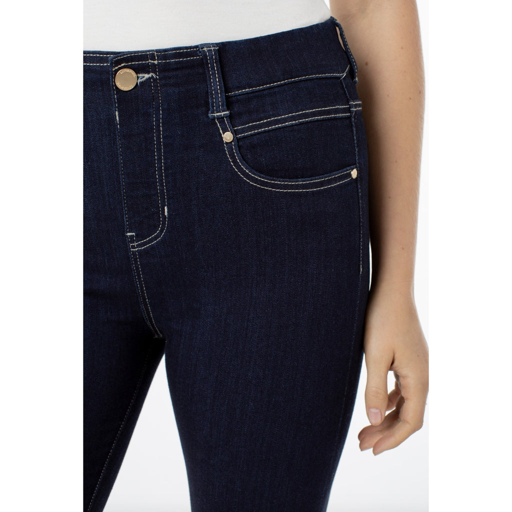 Liverpool Jeans Gia Glider Ankle Length Pull On Jeans